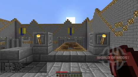 Lava Towers для Minecraft