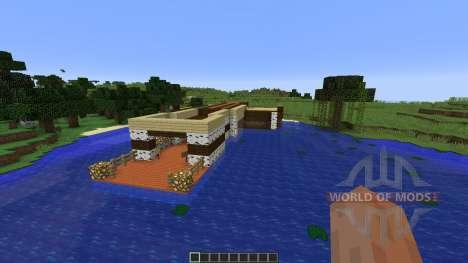 Fishing Dock для Minecraft