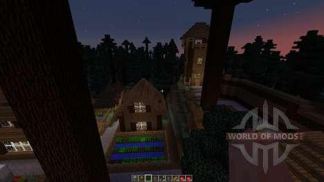 Forest hills village для Minecraft
