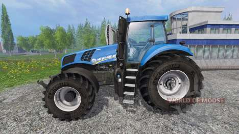 New Holland T8.320 v2.4 для Farming Simulator 2015