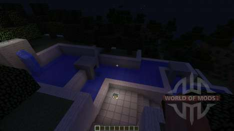 Futuristic Modern House: The Exige для Minecraft