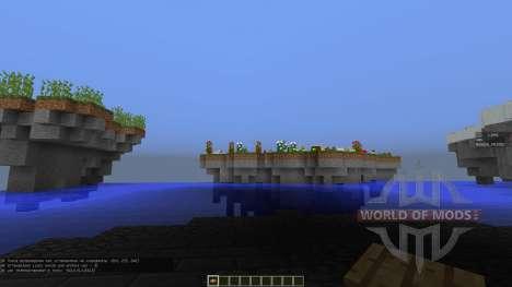 Forbidden Isles для Minecraft