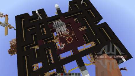 Pacman-Multiplayer new map для Minecraft