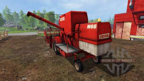 Fahr M66 v1.2 для Farming Simulator 2015