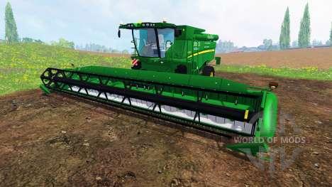 John Deere S 690i для Farming Simulator 2015