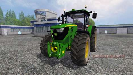 John Deere 6170R v2.2 для Farming Simulator 2015