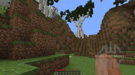 Custom Terrain Archipelago V2 для Minecraft
