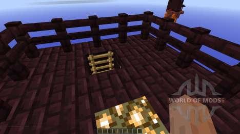 Netherfortress Bedwars Map для Minecraft