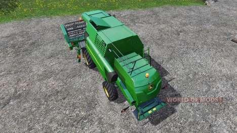John Deere W330 для Farming Simulator 2015