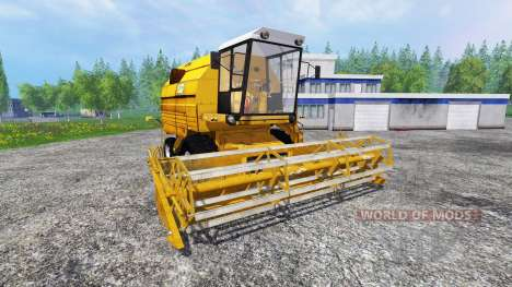 Bizon Z083 [yellow] для Farming Simulator 2015