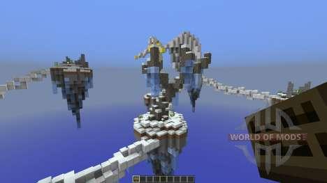 Icelands of Paradise для Minecraft