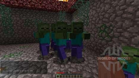 Zombie Defense для Minecraft