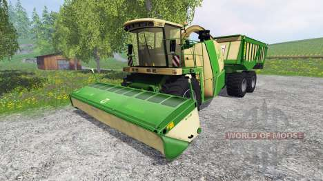 Krone Big X 650 Cargo [120000 liters] для Farming Simulator 2015
