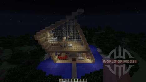Hipsta house для Minecraft