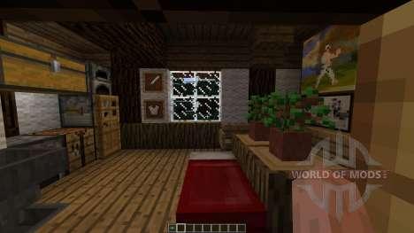 Small winter home для Minecraft