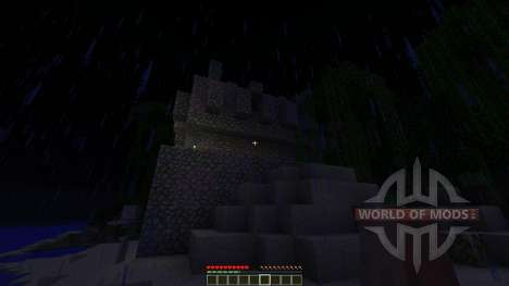 Temple of the Lost Adventure map для Minecraft