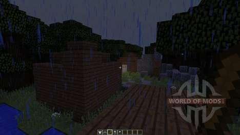 PvP Arena The Forest для Minecraft
