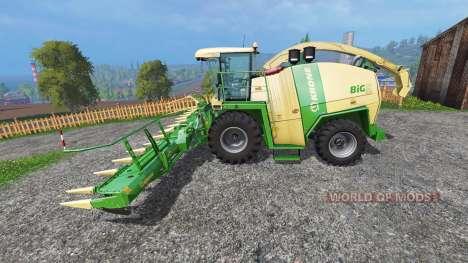 Krone Big X 1100 [30k] для Farming Simulator 2015