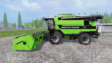 Deutz-Fahr 7545 RTS v1.2.8 для Farming Simulator 2015