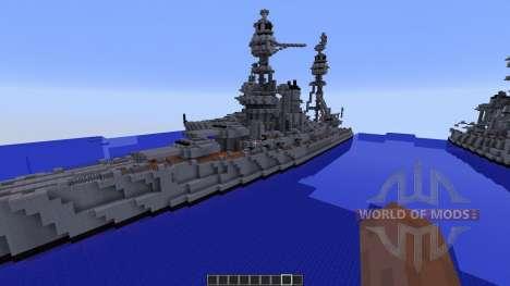 WW2 Battleships для Minecraft