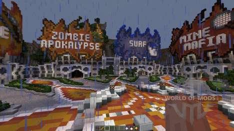 GommeHD.net Server Map для Minecraft