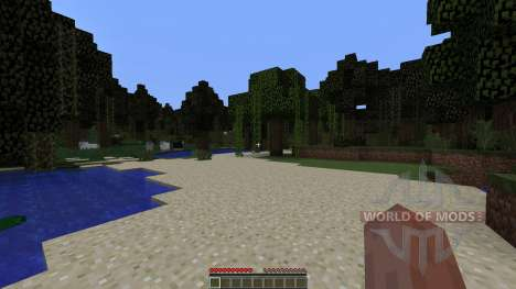 Custom Biome Project для Minecraft