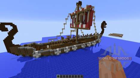 Vikdal Vikingvillage для Minecraft