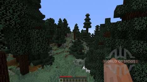 Alpine Island Custom Survival Island для Minecraft
