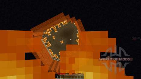 Hot Feet Minecraft Minigame для Minecraft