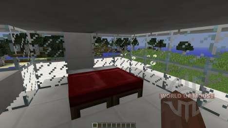 FOREST-SIDE AMODERN HOUSE для Minecraft