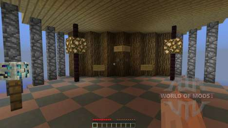 Self repairing Spleef Arena для Minecraft