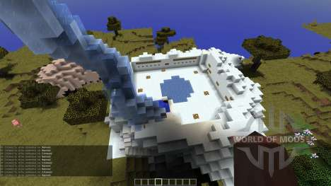 Fly over CTW Map для Minecraft