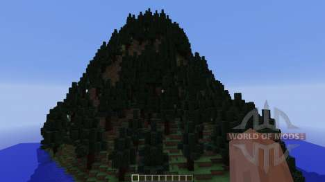 The 5 mountains для Minecraft