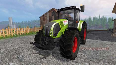CLAAS Axion 820 v2.0 для Farming Simulator 2015