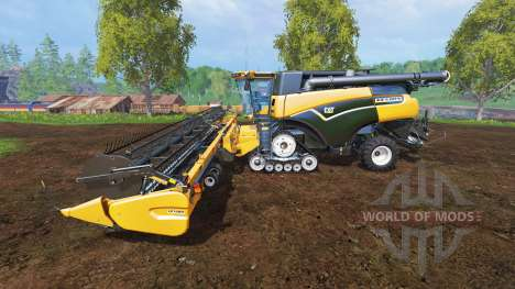 Caterpillar Lexion 590R v1.41 [fix] для Farming Simulator 2015