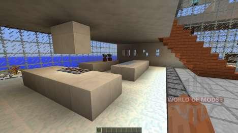 Diagonal Ultra Minimal Island Home для Minecraft