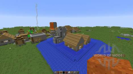 Forces of nature для Minecraft