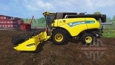 New Holland CR9.90 v1.1 [yellow edition] для Farming Simulator 2015
