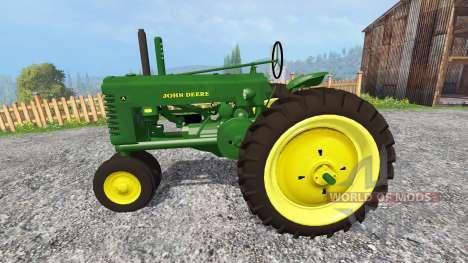 John Deere Model A [update] для Farming Simulator 2015