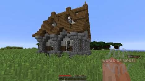 Medieval House new для Minecraft
