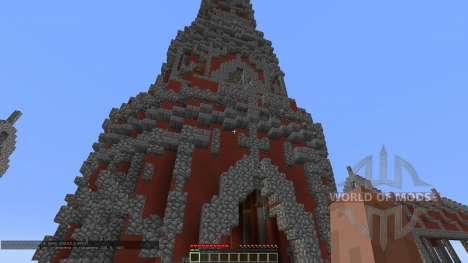 Fly Red Tower для Minecraft