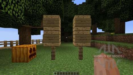 Mountain Sky Village Map для Minecraft