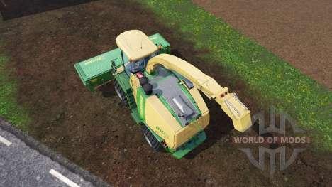 Krone Big X 1100 [inluding cutters] v1.1 для Farming Simulator 2015