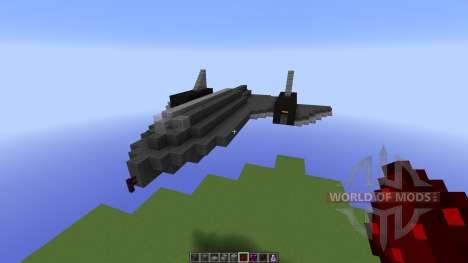 SR-71 BlackBird для Minecraft