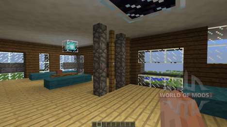 Contrast A Minimal Modern Home для Minecraft