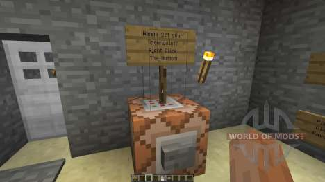 Command Block Minecart Station для Minecraft