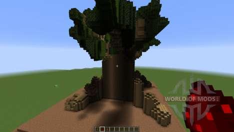 A Minecraft Tree house для Minecraft