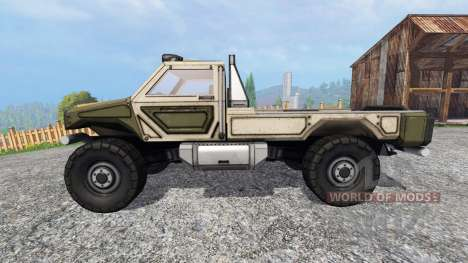 Gekko Utility Vehicle для Farming Simulator 2015