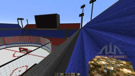 Oustanding Outdoor Hockey Arena для Minecraft