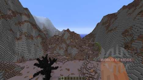Wasteland of the dragons для Minecraft